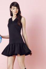 czarna sukienka Bizuu
