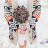 Zimowy bukiet �lubny