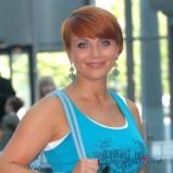 Katarzyna Zieli�ska z rudymi w�osami