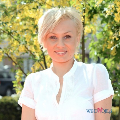 kr�tkie w�osy - jasny blond