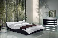 Nowoczesna jadalnia i sypialnia - Patt Meble