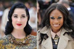 Makija�e gwiazd - London Fashion Week Spring/Summer 2013
