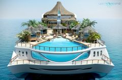 Tropical Island Paradise - jacht jak wyspa
