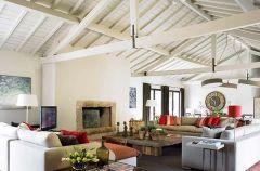 Drewno i kamie� - jesienny klimat w domu