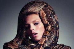 Anja Rubik w w�owej sesji dla Vogue