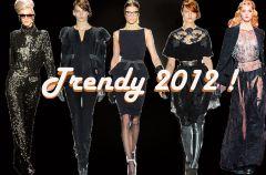 Czer� koronki - Najwa�niejsze trendy 2012