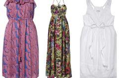 Pla�owe sukienki na lato 2012