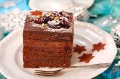 Piernik w polewie czekoladowej