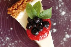 Dietetyczne smaki - puszysty sernik na zimno