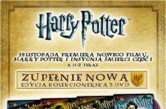 Kolekcjonerskie wydanie czterech cz�ci Harrego Pottera