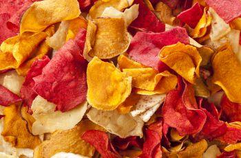 Zdrowe, domowe chipsy