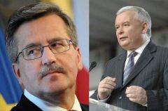 Bronis�aw Komorowski kontra Jaros�aw Kaczy�ski - kto wygra� debat�?