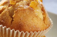 Korzenne muffinki z konfitur� pomara�czow�