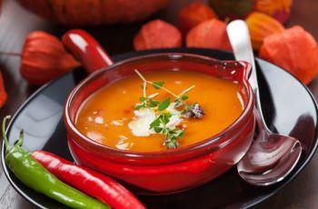 Zupa z dyni na ostro