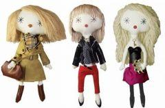 Laloushki - lalki w eleganckich strojach