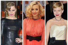 Kreacje gwiazd na gali BAFTA 2012