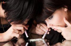 Objawy przyjmowania narkotyk�w: amfetamina