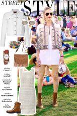Festiwalowa stylizacja Kate Bosworth