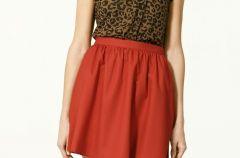 Sp�dnice i sukienki Zara TRF na wiosn� i lato 2011