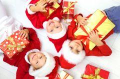 Miko�ajkowo-gwiazdkowe prezenty dla dzieci