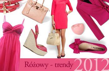 R�owy - trendy wiosna/lato 2012