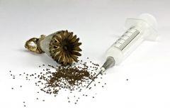 Objawy przyjmowania narkotyk�w: opiaty