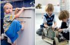 Jak ochroni� dziecko przed pu�apkami w mieszkaniu?