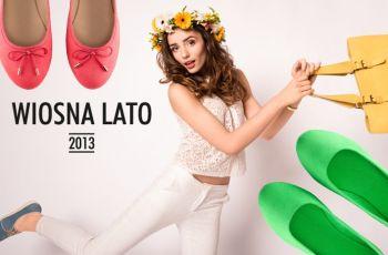 Nowe kolekcje - baleriny i mokasyny na wiosn� 2013 - CCC