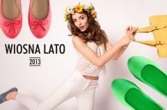 Nowe kolekcje - baleriny i mokasyny na wiosn� 2013