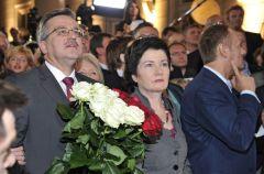 Wiecz�r wyborczy Bronislawa Komorowskiego