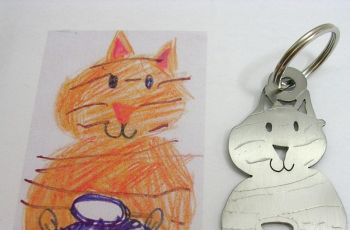 Bi�uteria i breloczki zaprojektowane przez Twoje dziecko - dzieci�cy rysunek
