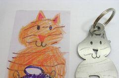 Bi�uteria i breloczki zaprojektowane przez Twoje dziecko
