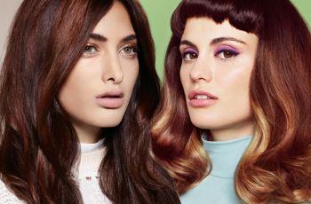 Najpi�kniejsze fryzury dla brunetek na wiosn� 2014