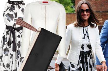 Stylowa Pippa Middleton w ubraniach ekskluzywnej marki
