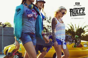 Miasto rz�dzi w nowej kampanii Cropp - moda m�odzie�owa