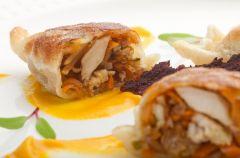 Dynia z grzybami - przepisy na jesienne obiady