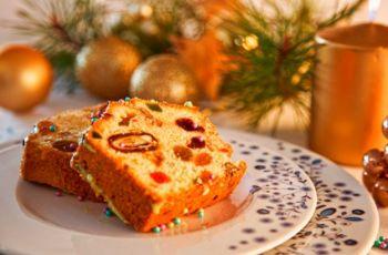 �wi�teczny keks - przepis