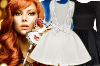 4 stylizacje na karnawa� lub studni�wk�! - sukienki na karnawa�