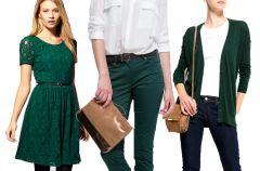 Butelkowa ziele� - modna jesieni�