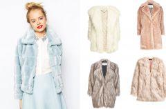 Pastelowe futerka - trendy jesie�/zima 2014