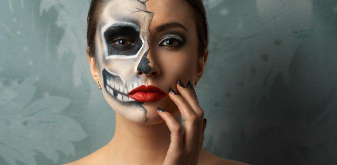 Makija� na Halloween Sugar Skull - czaszka!