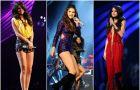 Kreacje Seleny Gomez na MTV EMA 2011