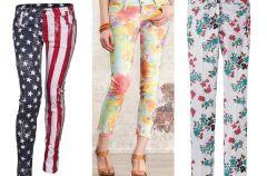 Najmodniejsze spodnie we wzory na wiosn� i lato 2012