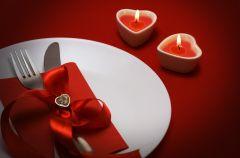Romantyczne dekoracje sto�u