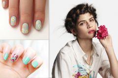 Paznokcie w kwiatki - manicure na wiosn� i lato