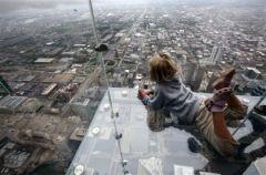 Tylko dla odwa�nych - szklane balkony