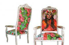Sarah Van Hoe - moda na sztuk� we wn�trzu