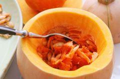 Dynia z pomidorami