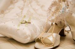 Kolorowe buty �lubne