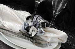 Pier�cienie na serwetki - dekoracja sto�u